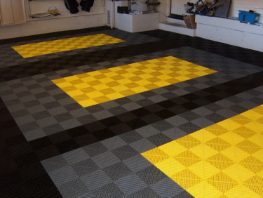 Garagenfußboden ~ Garage mit befahrbaren kunststoffboden