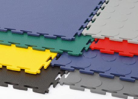 PVC-Böden und Beläge für die Industrie, Handel und Gewerbe
