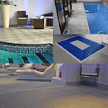 Bergo SOFT TILE für Schwimmbäder, Schwimmhallen und Pools